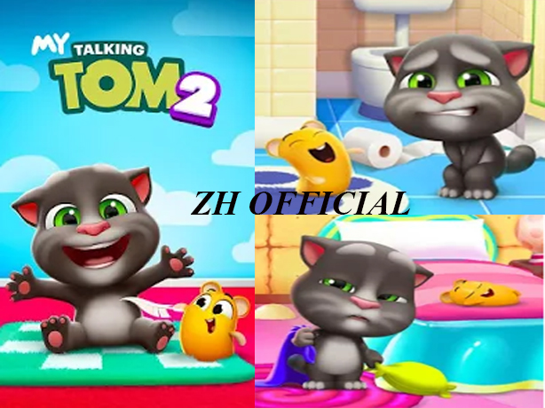 My Talking Tom 2 Android Game Free Download 2019 - ZH