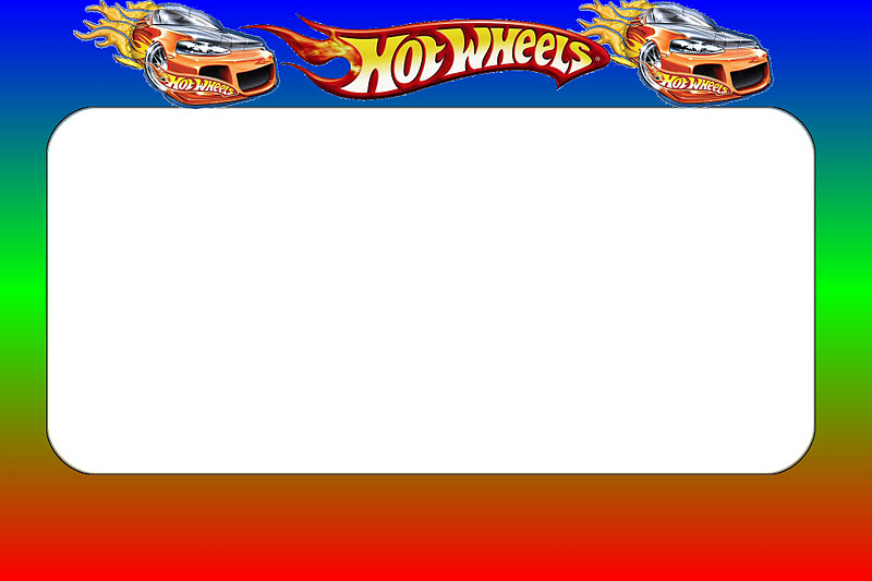 Hot Wheels Party Free Printable Invitations Oh My