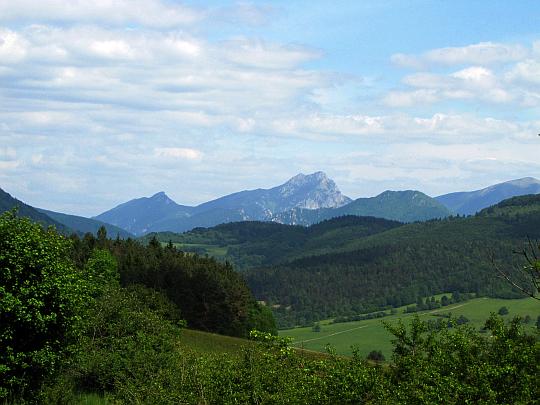 Północno-wschodnie szczyty Małej Fatry.
