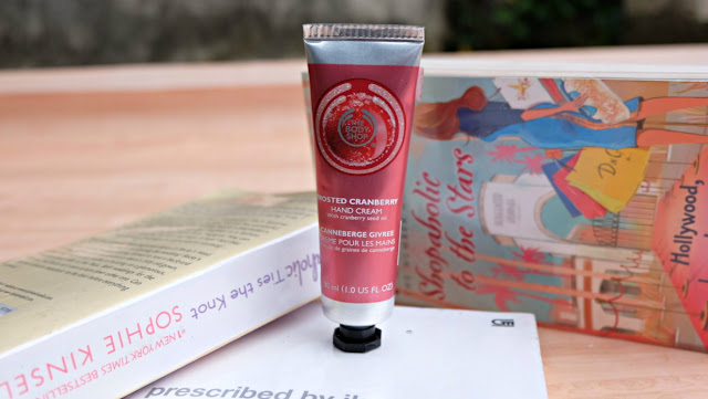 The-body-shop-frosted-cranberry-hand-cream