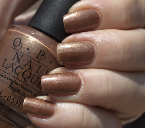 OPI Charmed by a Snake