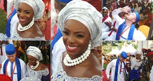 Photos from The Traditional Marriage of Oyinbo Man and His Beautiful Bride in Imo
