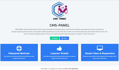 Modal Sekali diJual Berkali-kali CMS-Panel