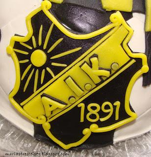 AIK tårta