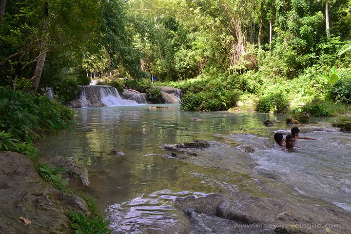 Cambugahay Falls' second cascade