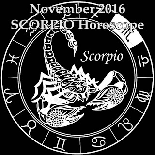 November 2016 SCORPIO Best Days for Money and Love