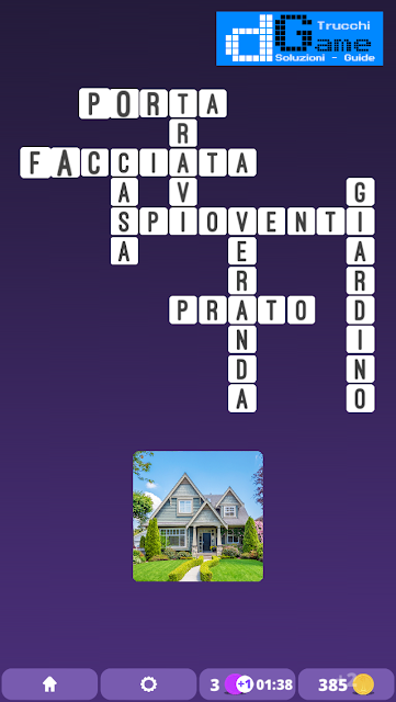 Soluzioni One Clue Crossword livello 3 schema 8  (Cruciverba illustrato)  | Parole e foto