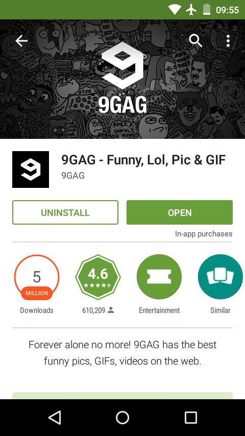 Play Store 9GAG