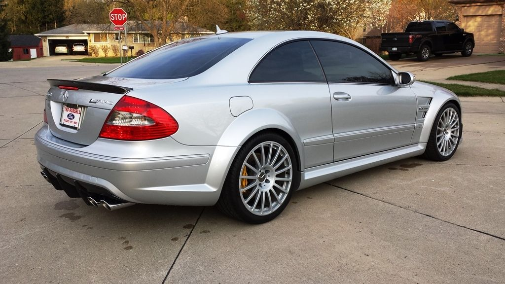 2008 mercedes benz w209 clk 63 amg black series benztuning for Mercedes benz clk 63
