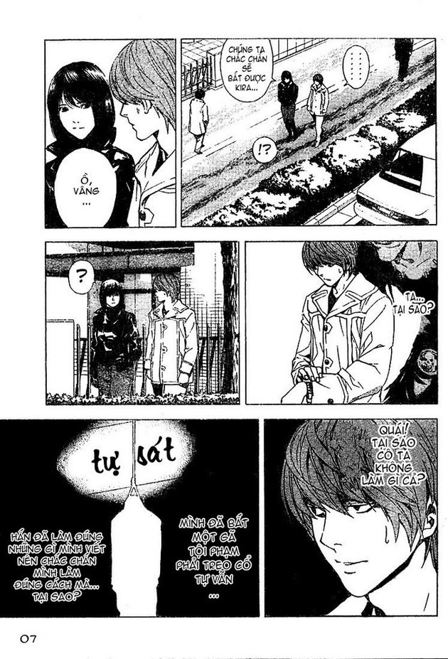 Death Note chapter 013 trang 7