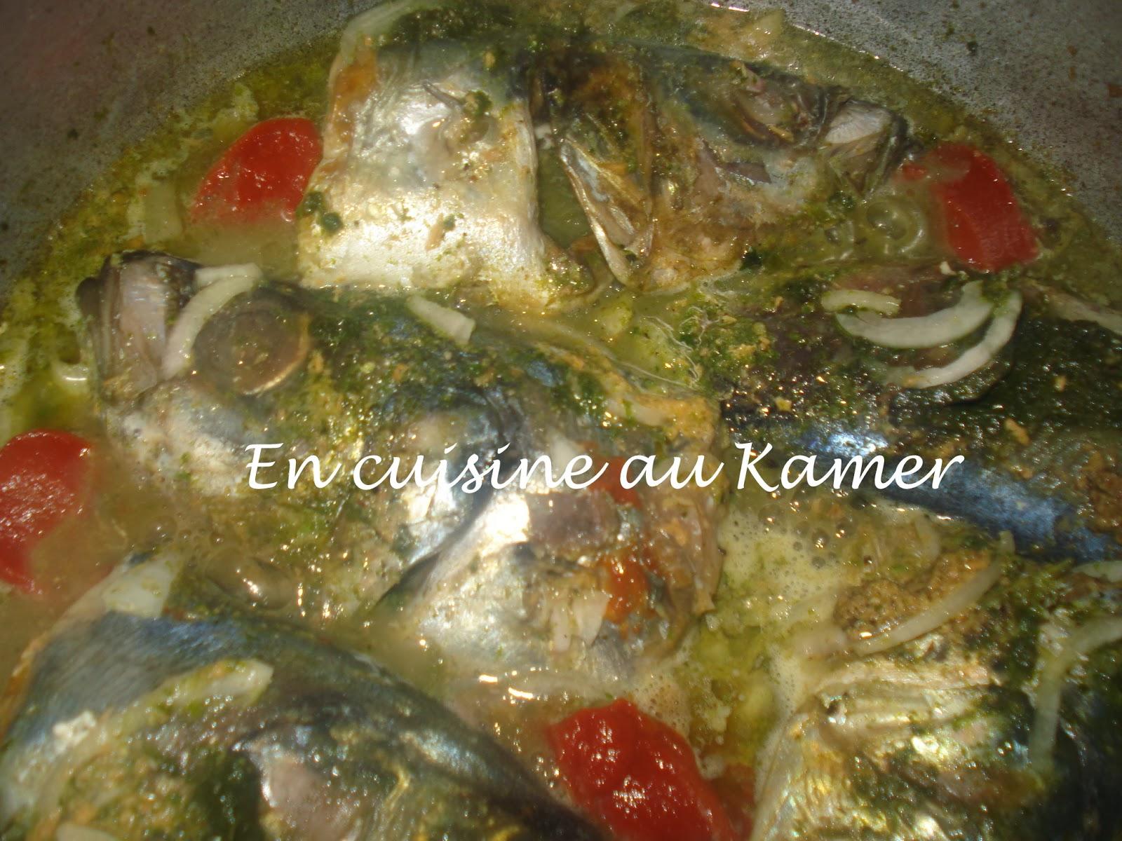 Maquereau la cocotte la cuisine camerounaise - Cuisine africaine camerounaise ...