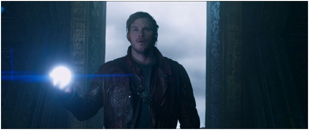 Star Lord/ Peter Quill Red Leather Jacket