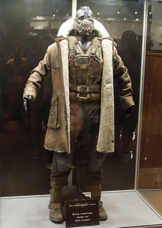 Tom Hardy Bane costume Dark Knight Rises