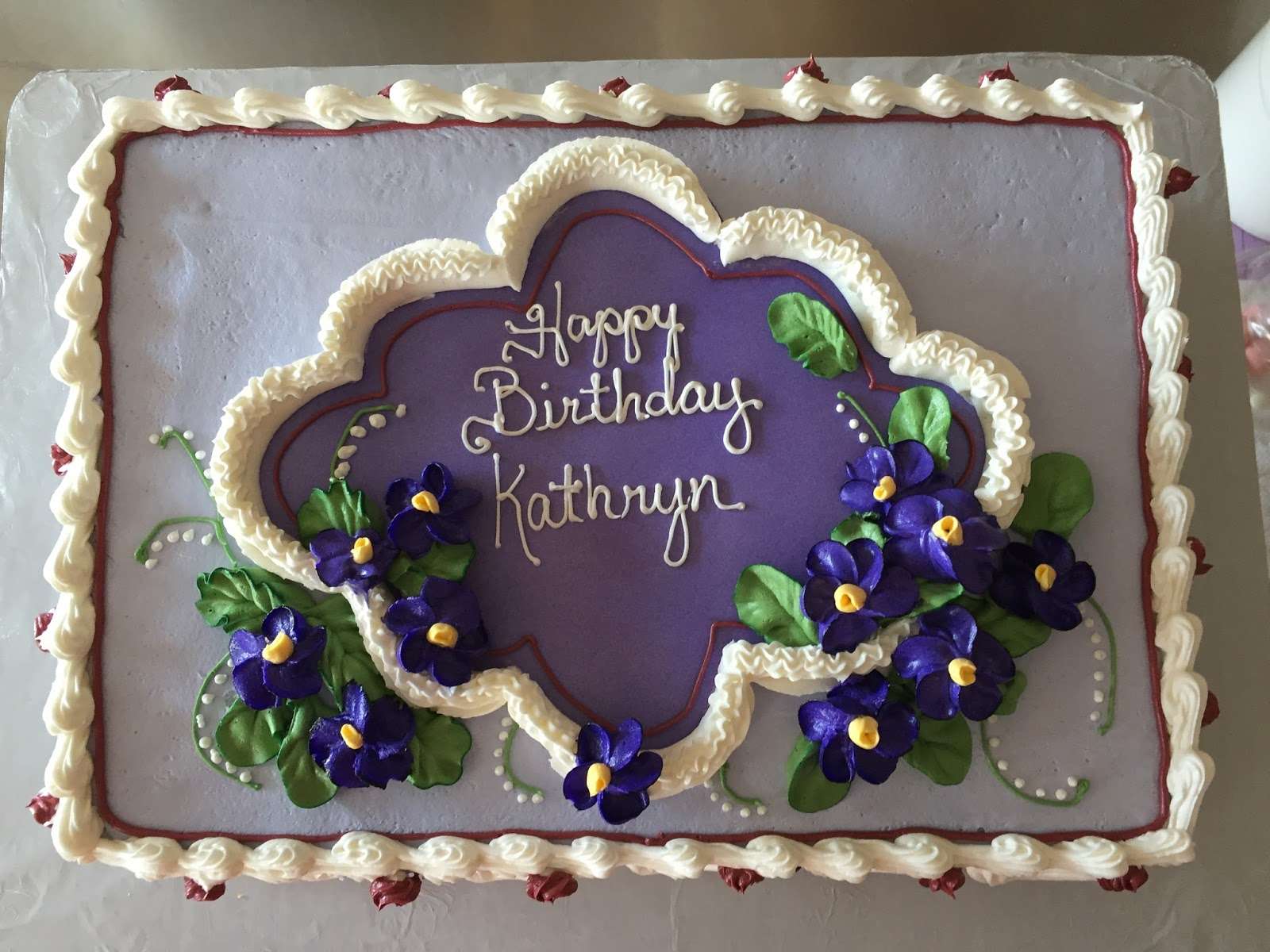 Gourmet Specialtys Happy 80th Birthday Kathryn