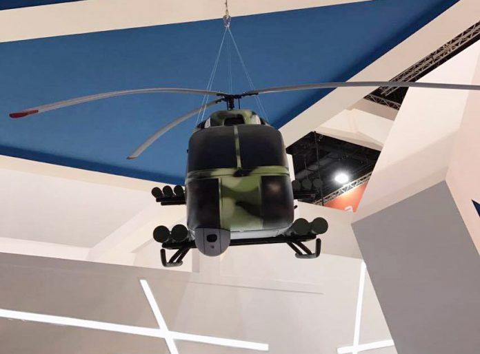 Україна на IDEX-2017 представляє концепт нового легкого ударного вертольота KT-112