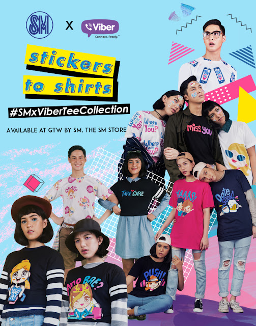 From Stickers to Shirts SM and Viber Launches Limited Edition Tees