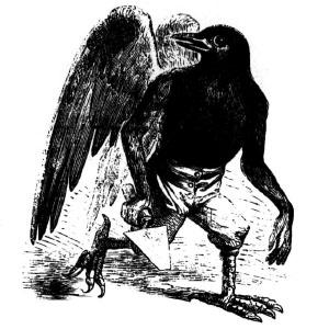 Goetia - Malphas (Illustration)