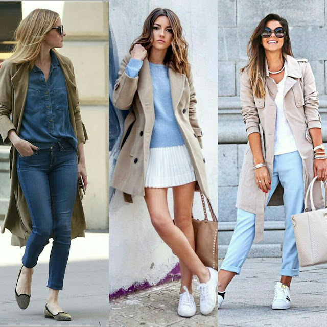 como usar Trench Coat