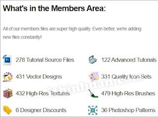 PSD Fan member area