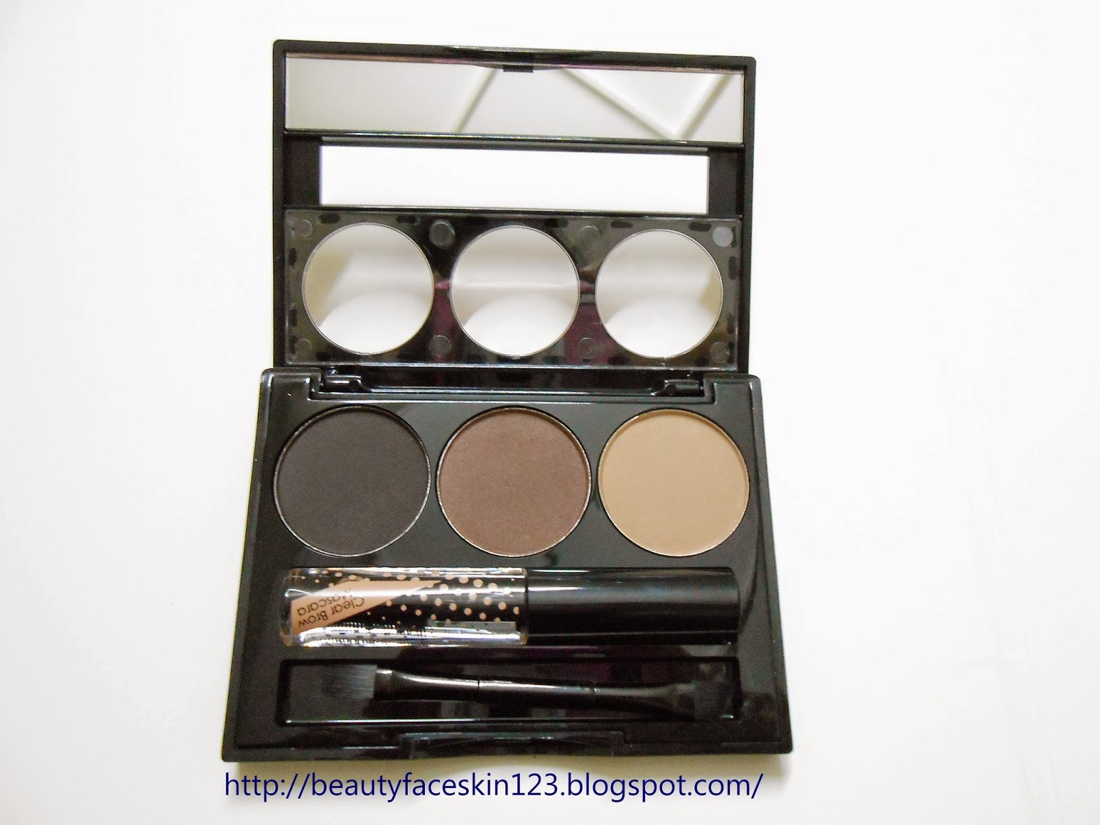 COLLECTION COSMETICS WORK THE COLOUR EYEBROW KIT