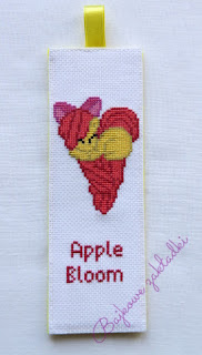 Zakładka do książki Apple Bloom – Apple Bloom bookmark