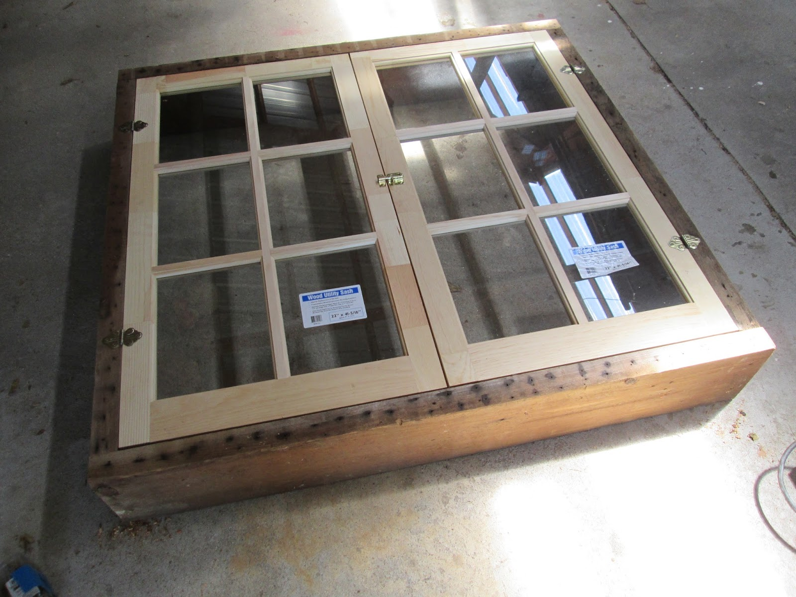 cabin window framing - Window Framing