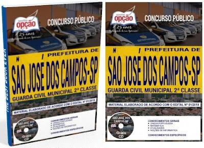 Apostila para o concurso da Guarda Civil Municipal de São José dos Campos 2018