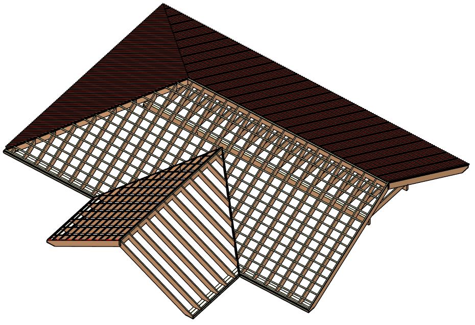 Revit Add-Ons: Wood Framing Roof