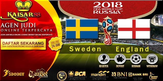 Prediksi Bola Jitu Sweden vs England 7 Juli 2018