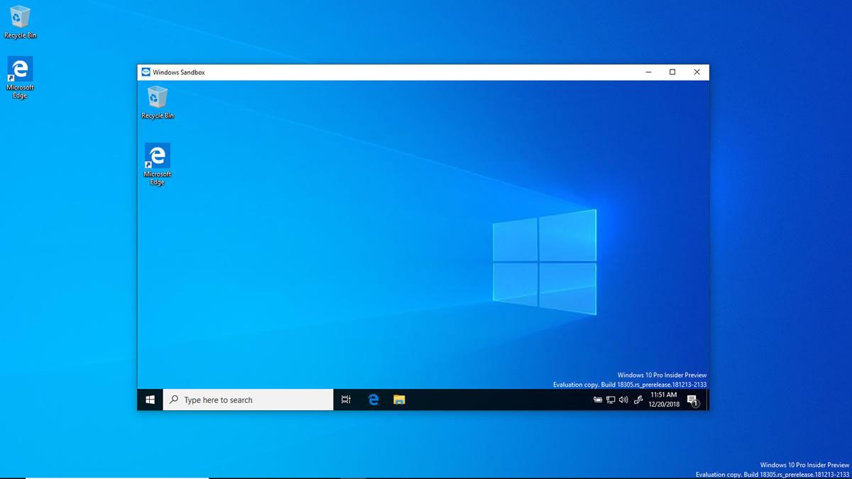 Cómo se activa Windows Sandbox en Windows 10 May 2019 Update | Sistemas Dedikados. Soluciones en Informática