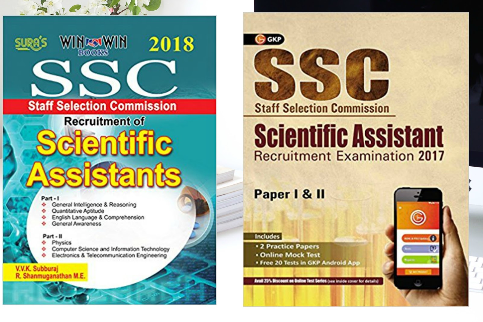 Best Books for the SSC Scientific Assistant Exam