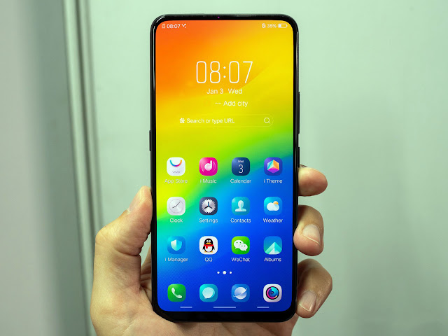 Vivo NEX 2 Dual Display dengan RAM 10GB