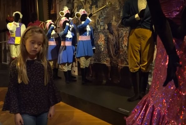 Prince Frederik, Princess Mary, Prince Christian, Princess Isabella, Prince Vincent and Princess Josephine visited Eventyrdronningen exhibition