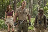 Kevin Hart, Dwayne Johnson and Karen Gillan in Jumanji: Welcome to the Jungle (17)
