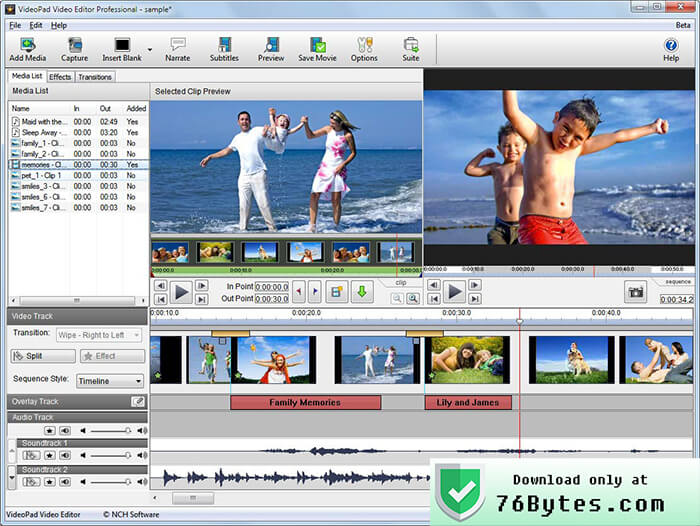 VideoPad 4.58 Crack Full Version License