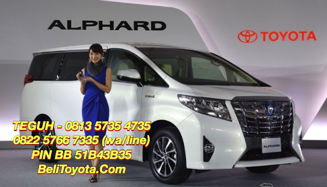 Harga Toyota All New Alphard 2016 di Surabaya