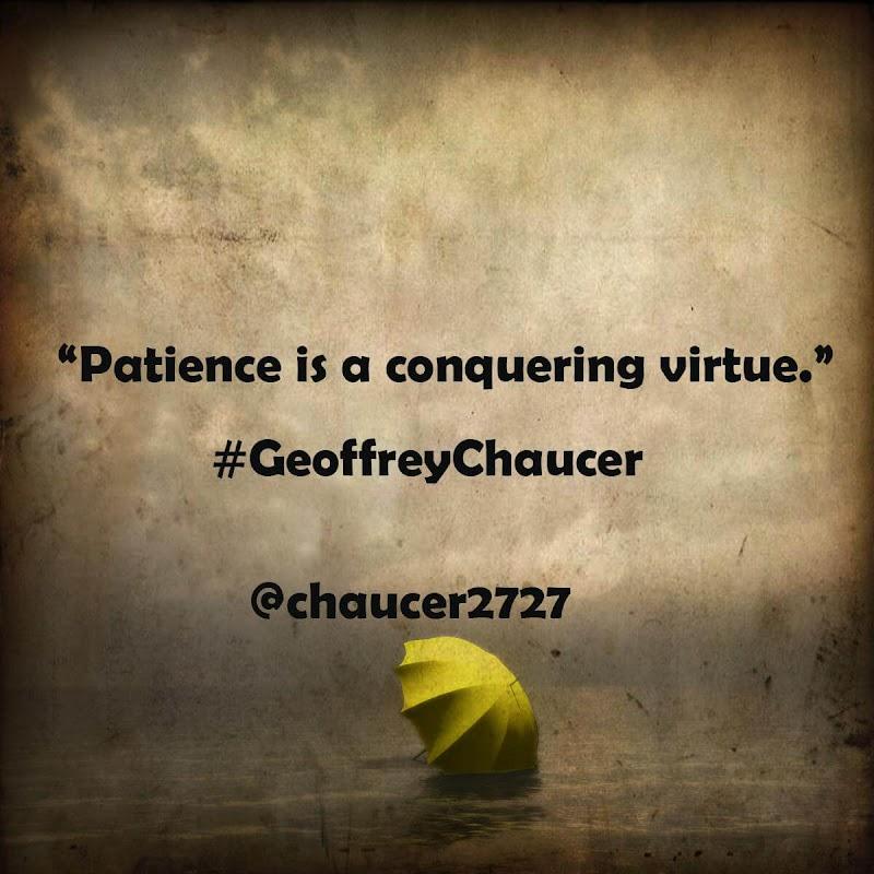 Geoffrey Chaucer's Lyrics.