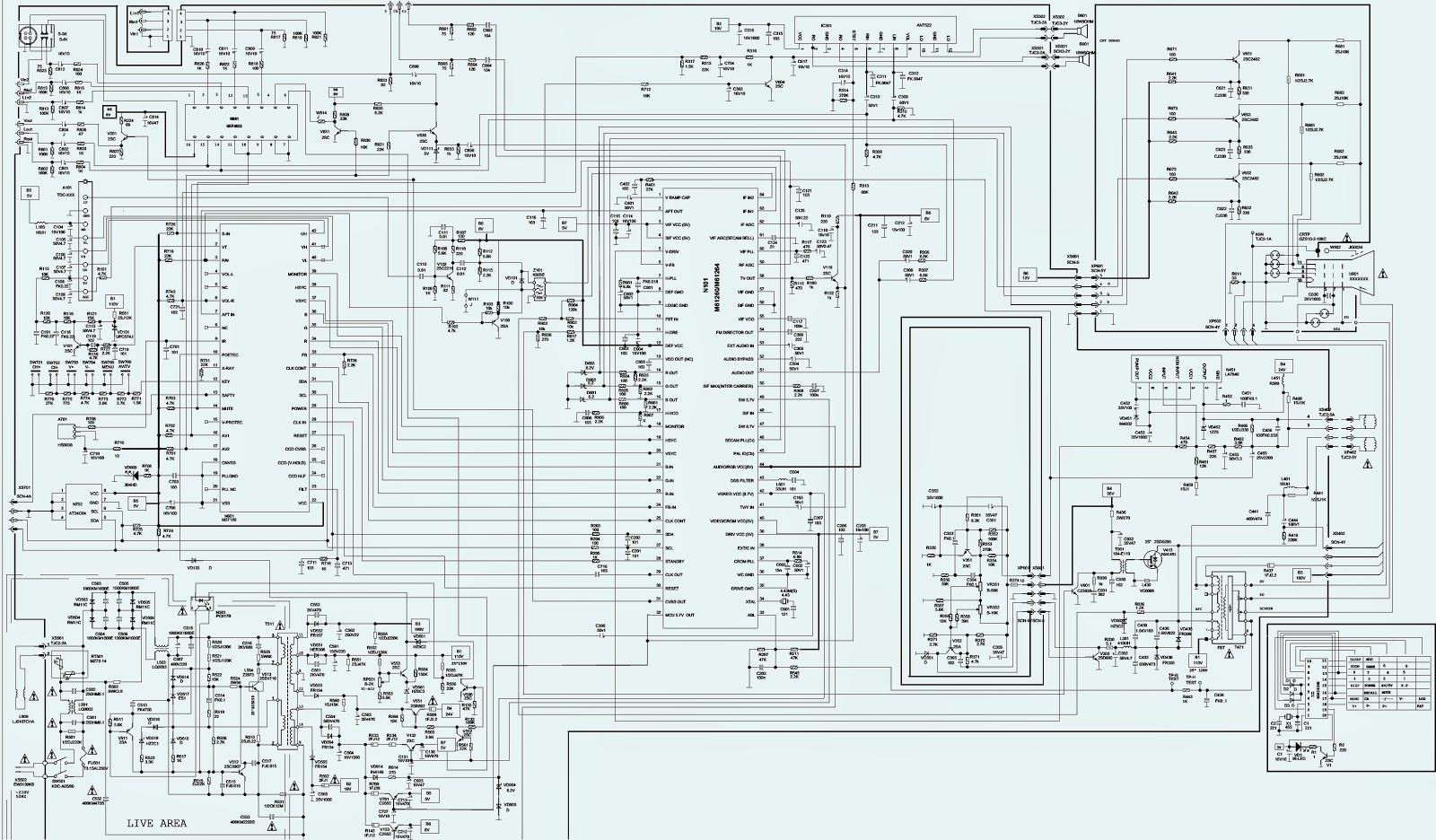 samsung tv schematic layout best site wiring harness samsung tv wiring diagram tv and component wiring [ 1600 x 936 Pixel ]
