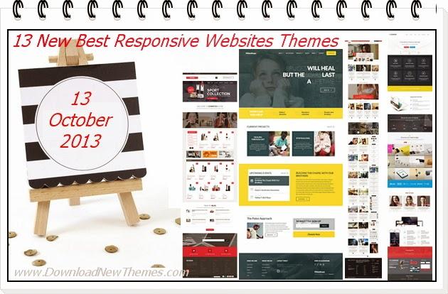 Best Premium Responsive Websites Themes