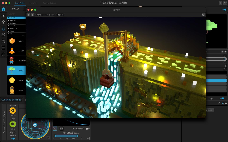 Buildbox Alternative Game Engine : Manu Game Maker - BuildBox 3D