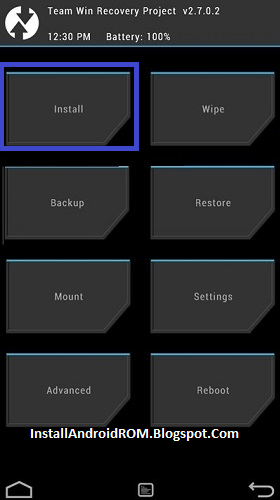 TWRP Install SuperSU On Android