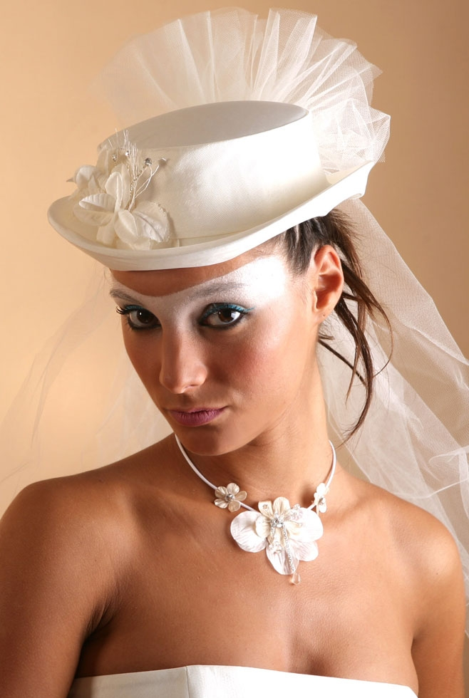 Coiffure De Mariée Avec Chapeau Julietlauratricia Site