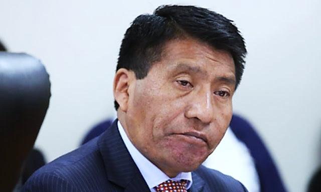 La Segunda Fiscalía Provincial Penal Corporativa de Puno logró que se declare fundado  pedido de levantamiento de la inmunidad parlamentaria de Moisés Mamani Colquehuanca.