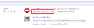 Mengatasi file yang diblock google