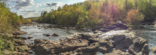 The Wisconsin River on the Grandfather Falls Segment of the Ice Age National Trail