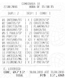 LOTECA 712 - SEPPUKU DO PRETO VÉIO