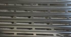 Lama troquelada persiana aluminio