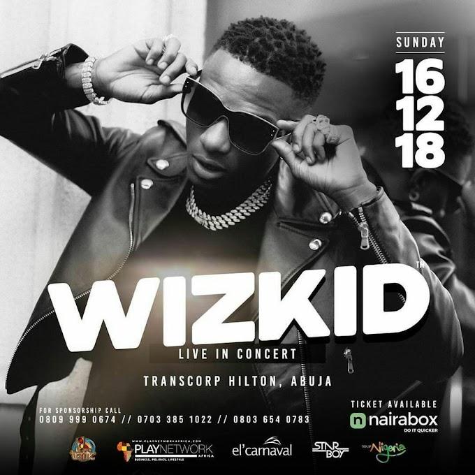 EVENTS: el' Carnaval Presents : Wizkid Live In Concert