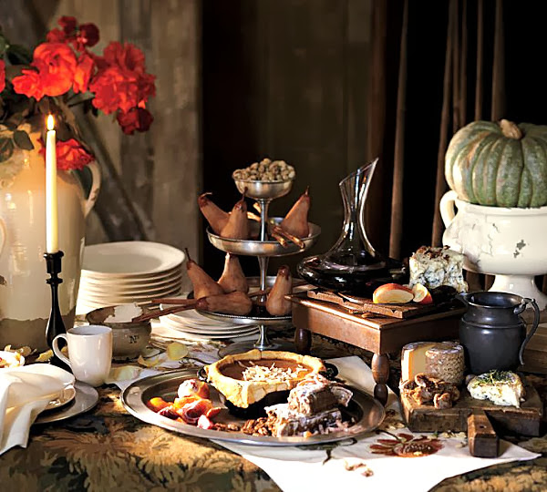 Thanksgiving Table Decorating: Alejandra Creatini: 17 Thanksgiving Table Setting Ideas
