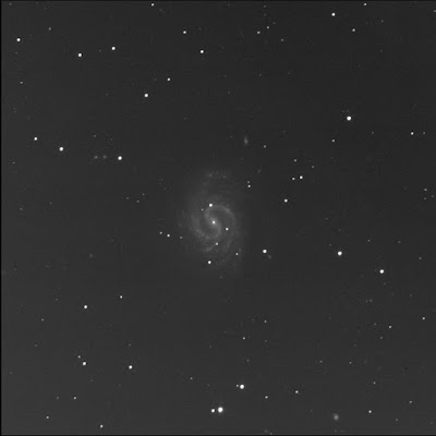 RASC Finest galaxy NGC 4535 in luminance